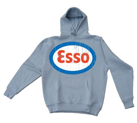 Esso Distressed Hoodie