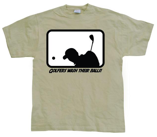 Golfers Wash Their Balls!