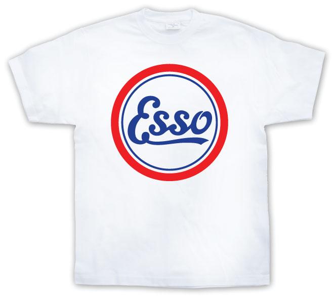 Retro Esso Logo T-shirt