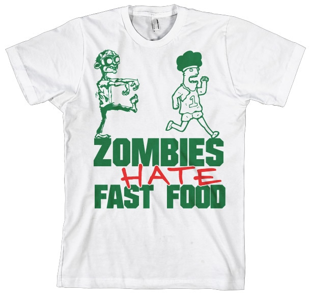 Zombies Hate Fast Food!