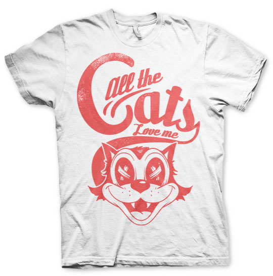 All The Cats Love Me T-Shirt