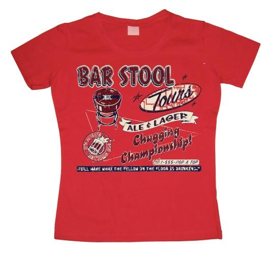 Bar Stool Tours Girly T-shirt
