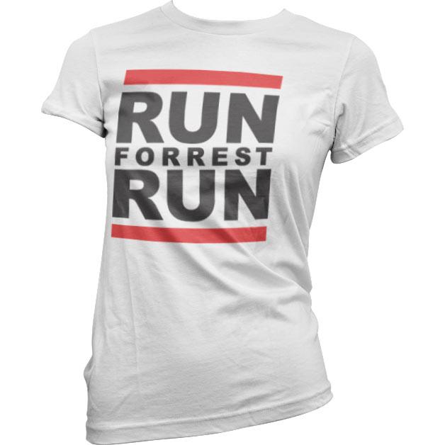 Run Forrest Run Girly Tee