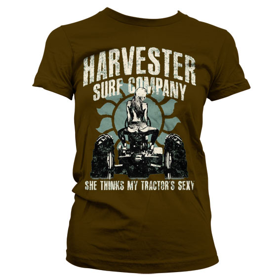Harvester Surf Co. - Tractors Sexy Girly T-Shirt