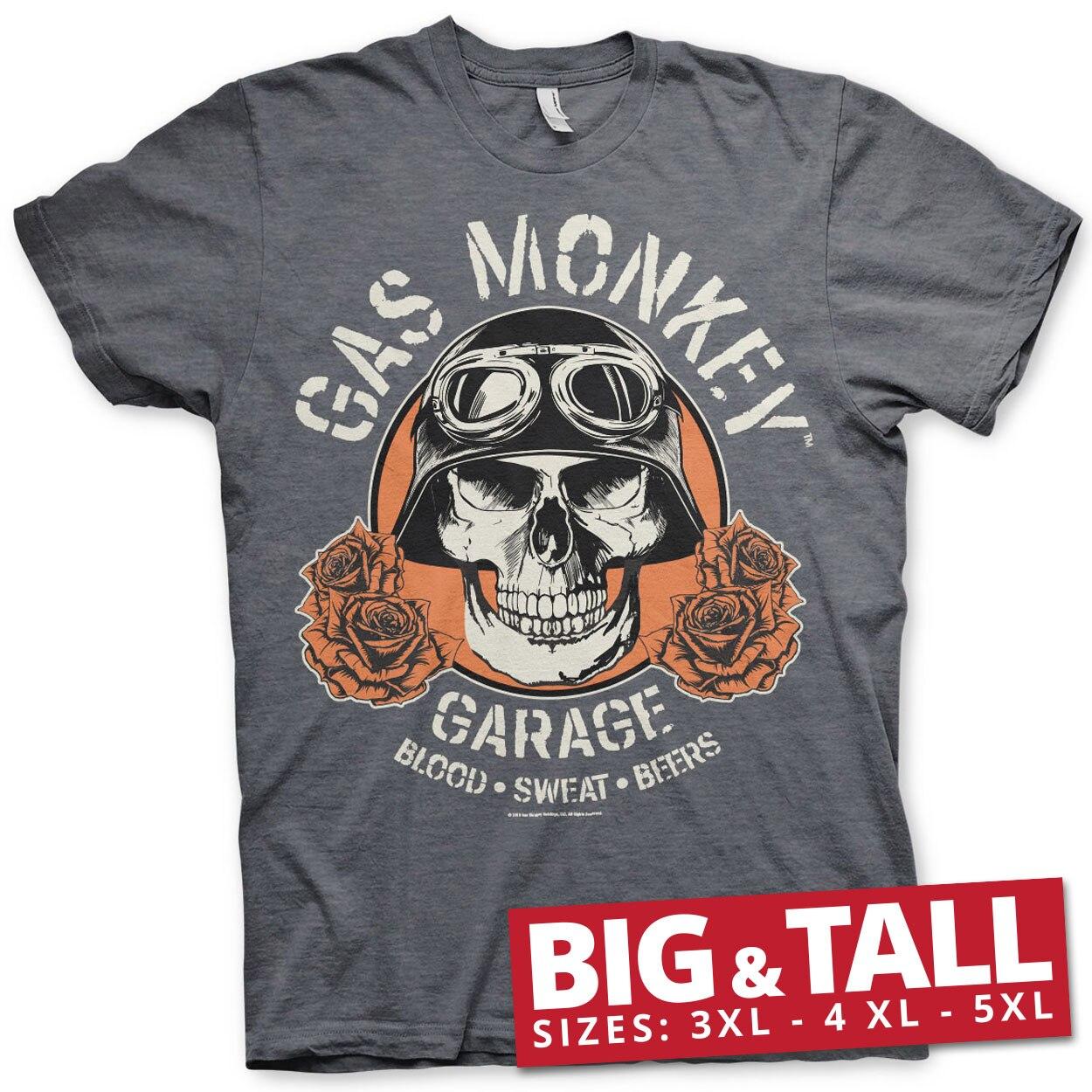 Gas Monkey Garage Skull Big & Tall T-Shirt