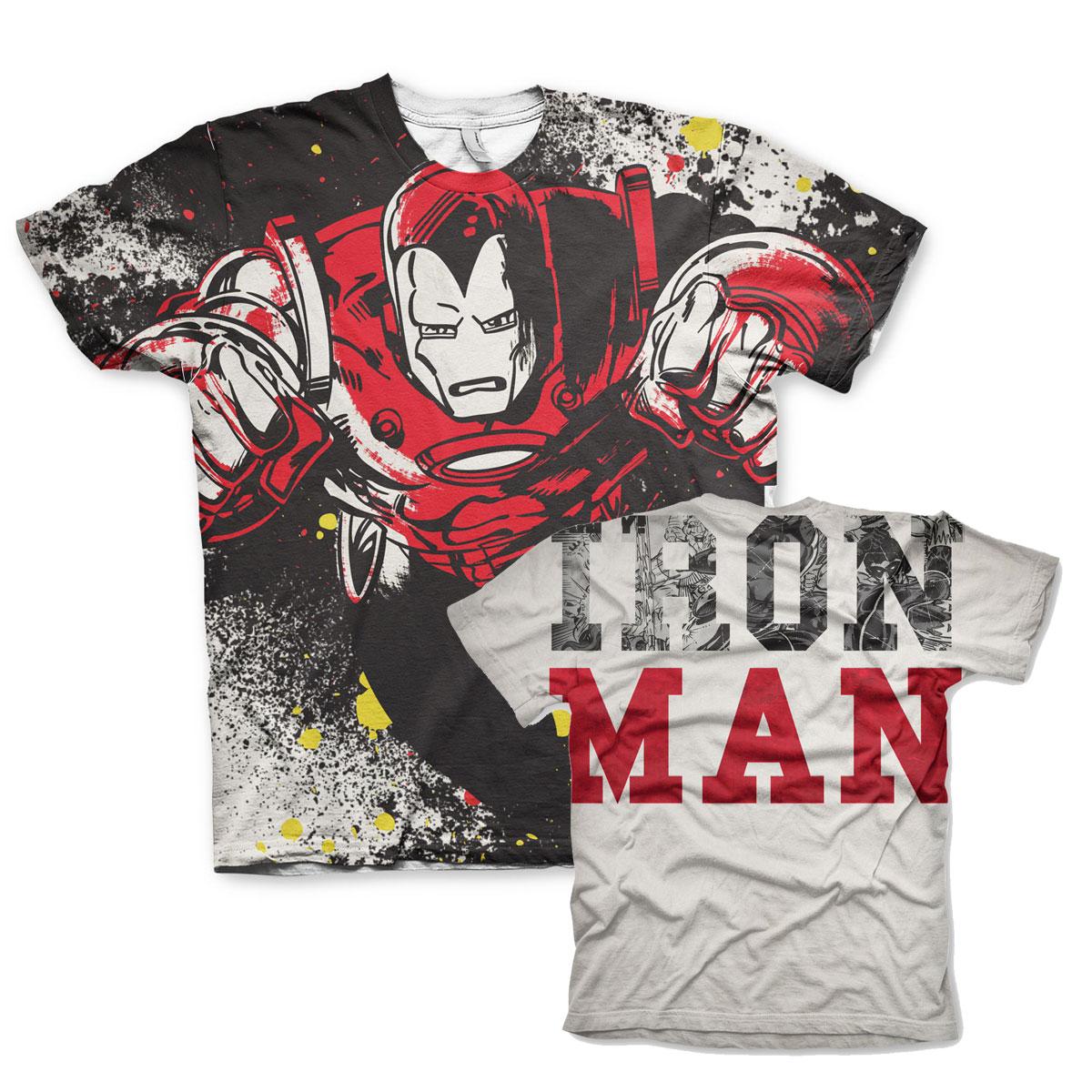 Iron Man Allover T-Shirt