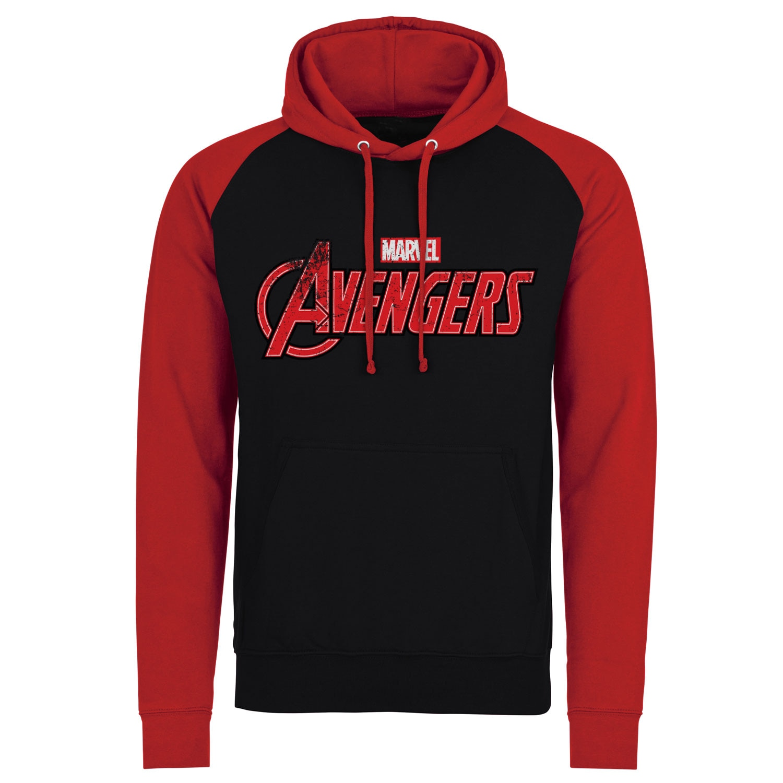 The Avengers Distressed Logo Baseball Hoodie