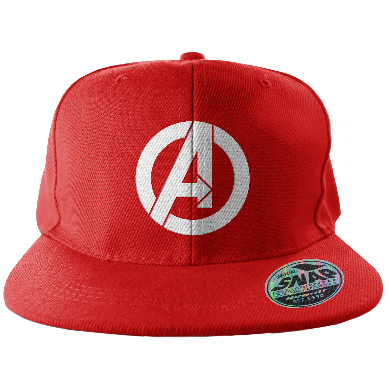 The Avengers A-Logo Snapback Cap