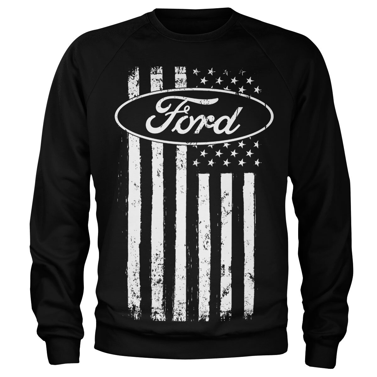 Ford American Flag Sweatshirt