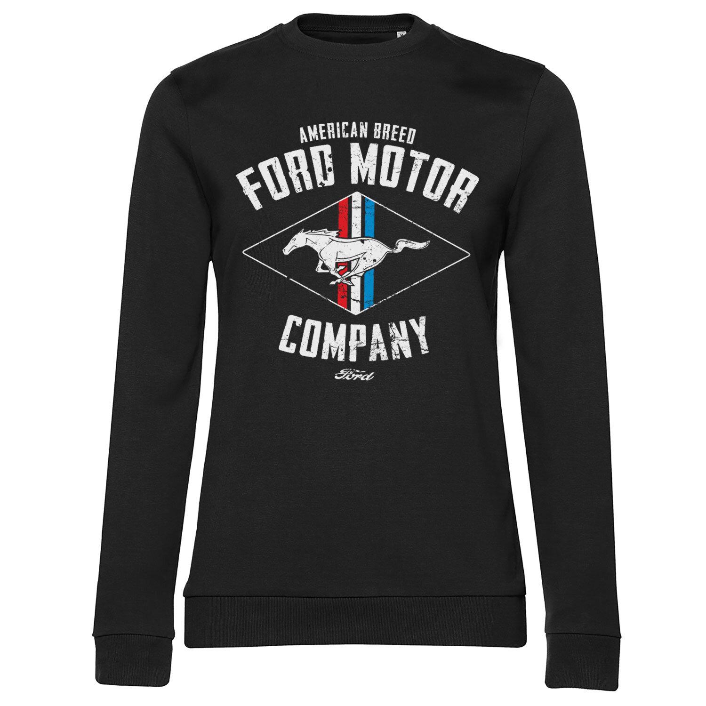Ford Motor - American Breed Girly Sweatshirt
