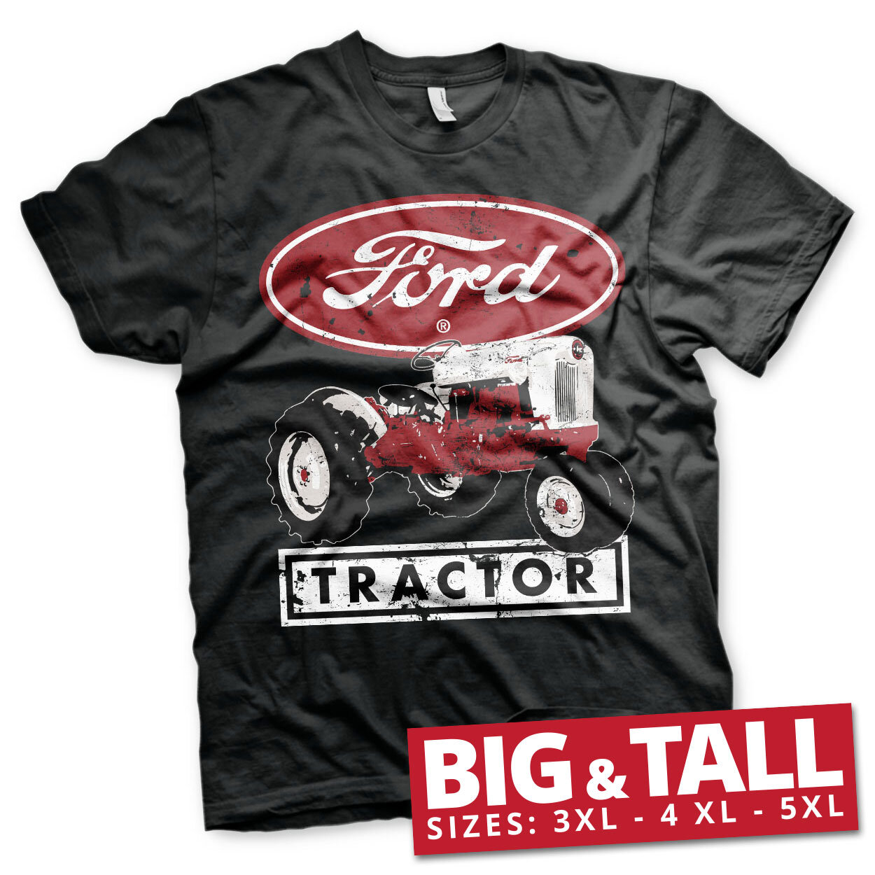 Ford Tractor Big & Tall T-Shirt