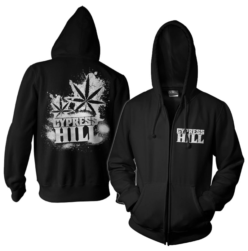 Cypress Hill - Cracked Zipped Hoodie
