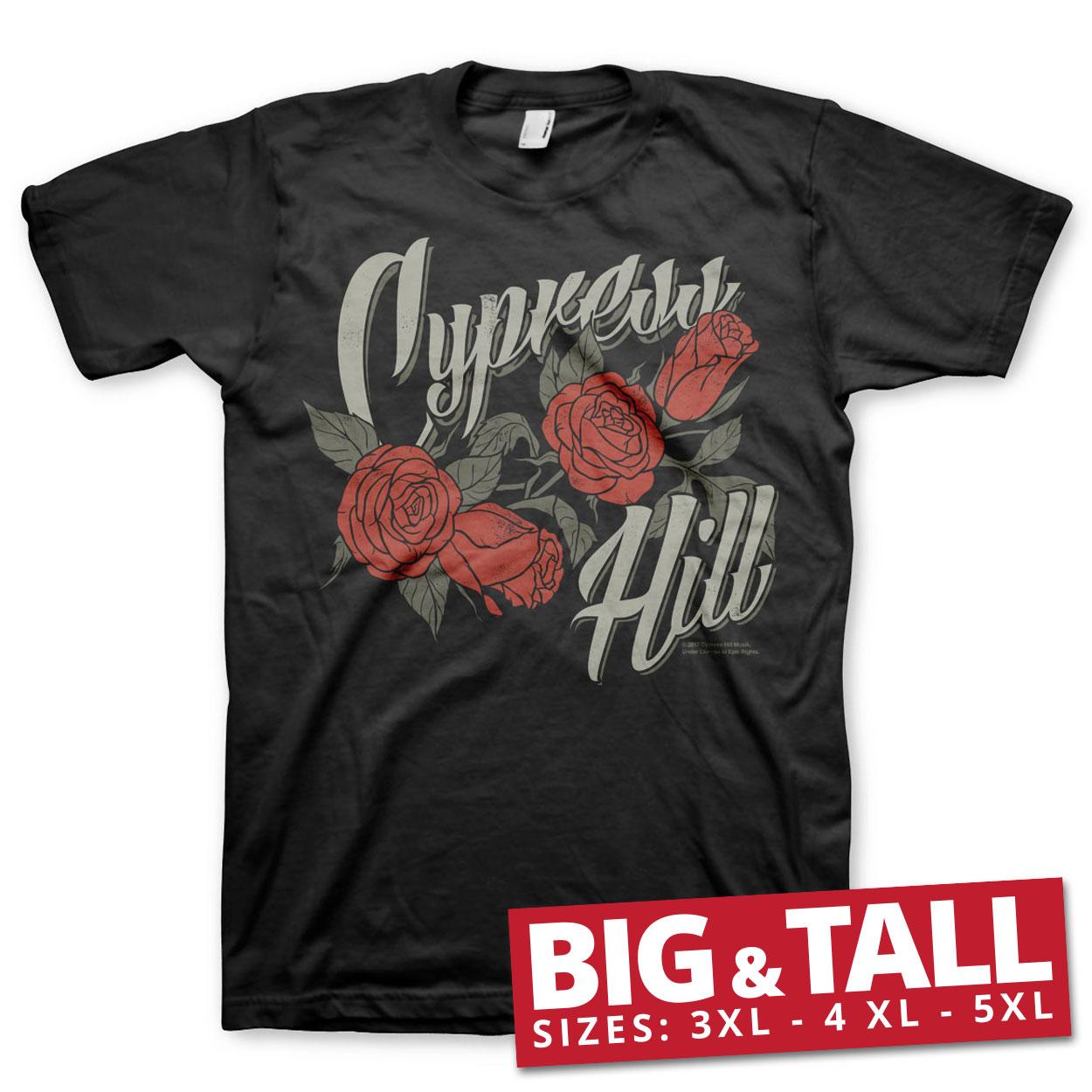 Cypress Hill Flower Big & Tall T-Shirt