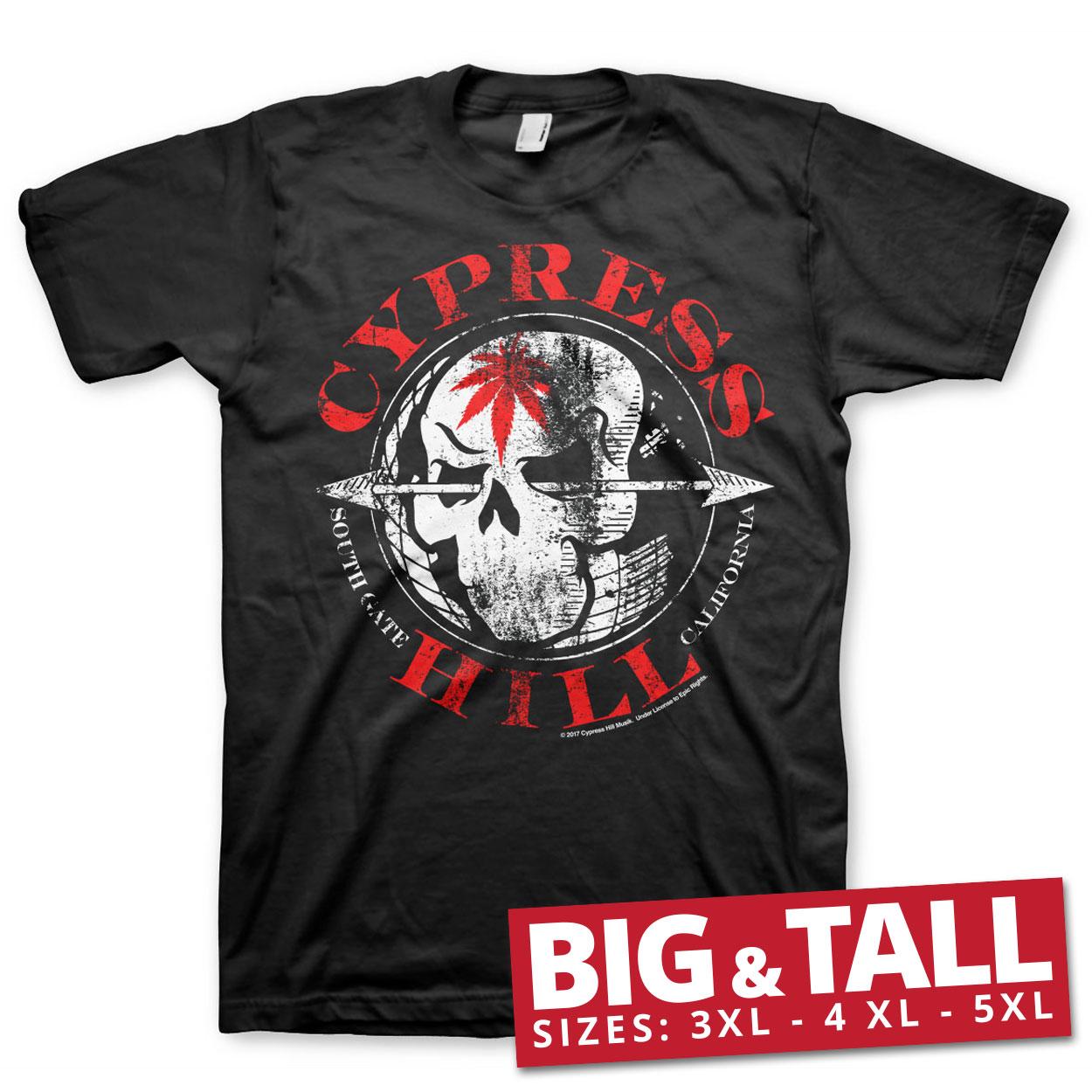 Cypress Hill South Gate - California Big & Tall T-Shirt