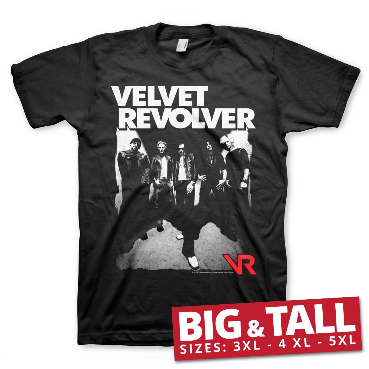 Velvet Revolver Big & Tall T-Shirt