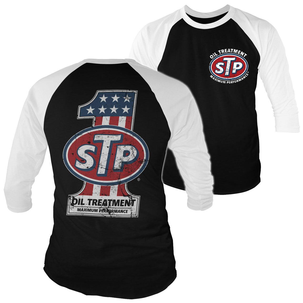 STP American No. 1 Baseball 3/4 Sleeve Tee
