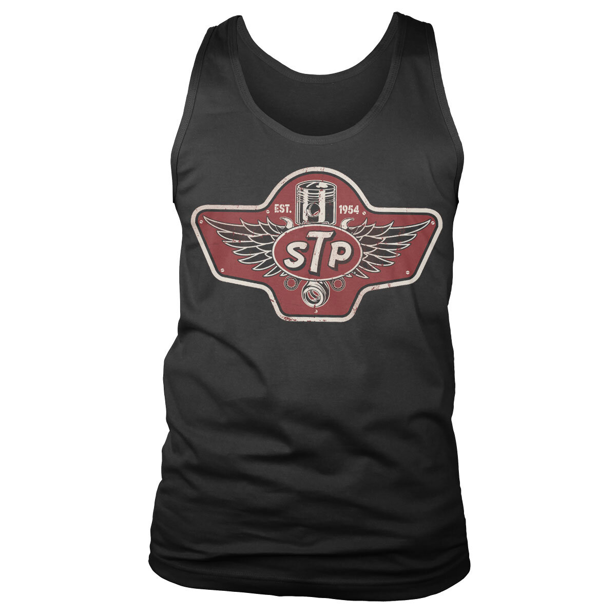 STP Piston Emblem Tank Top