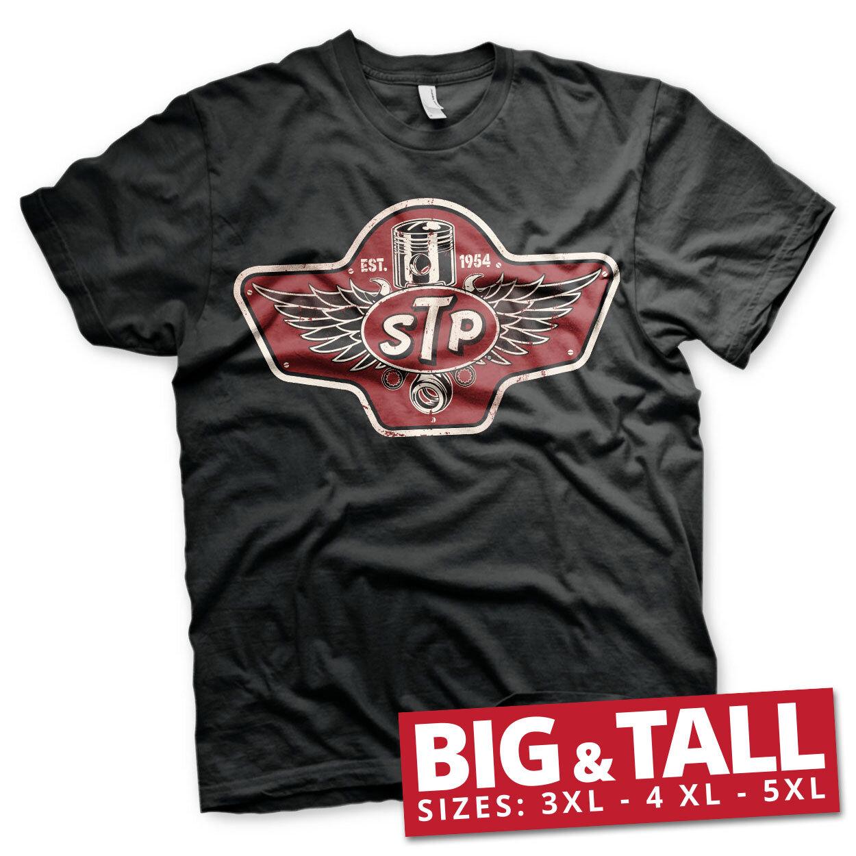 STP Piston Emblem Big & Tall T-Shirt