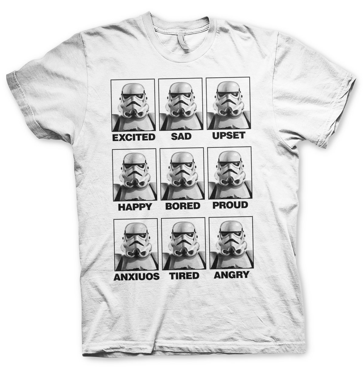 Moods Of A Stormtrooper T-Shirt
