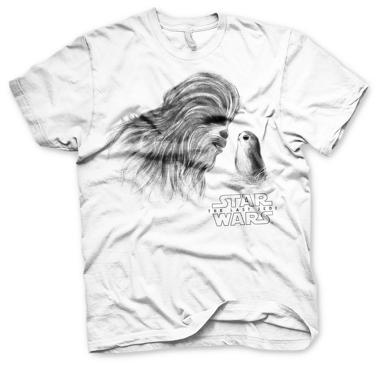 Star Wars - Chewbacca & Porg T-Shirt