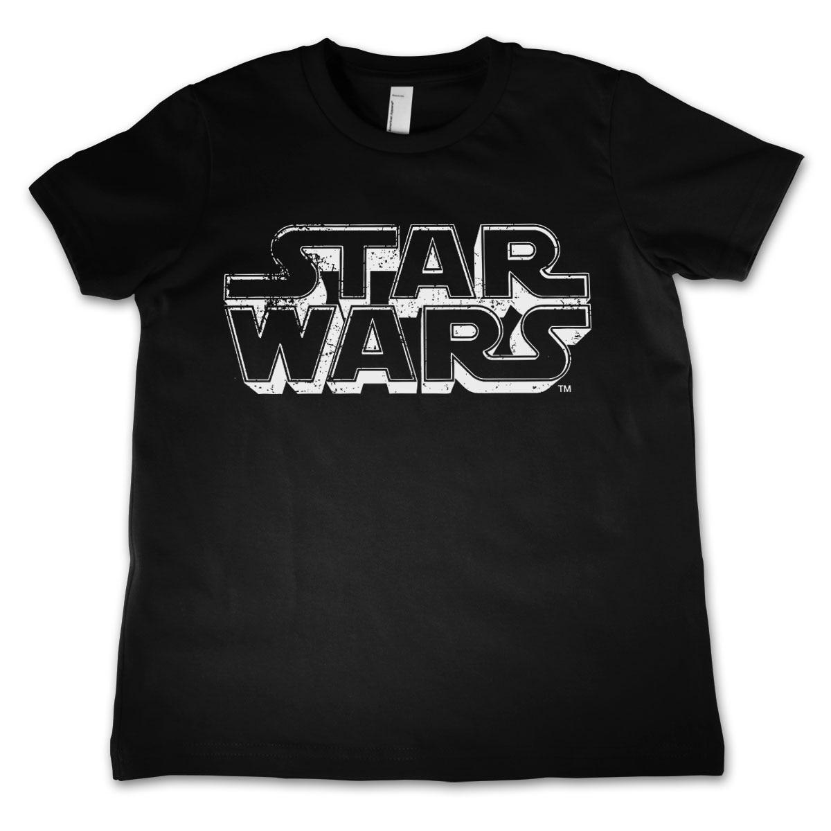 Star Wars Distressed Logo Kids T-Shirt