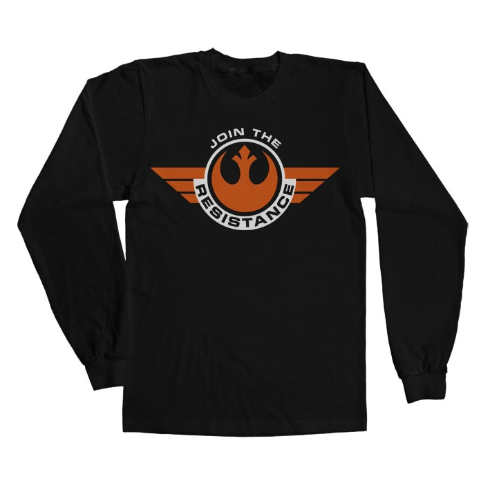 Join The Resistance Long Sleeve T-Shirt