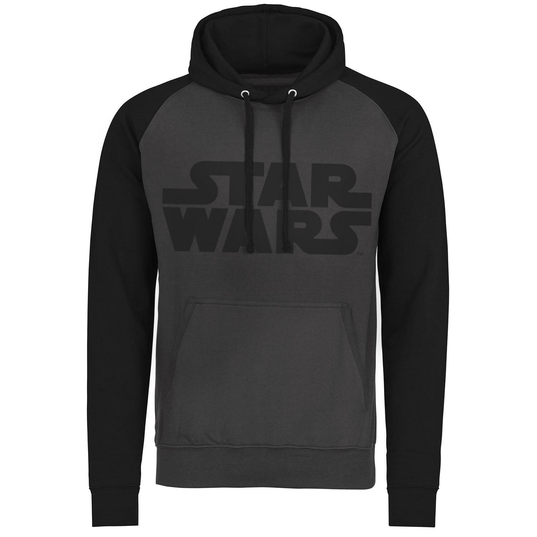 Star Wars Black Logo Baseball Hoodie