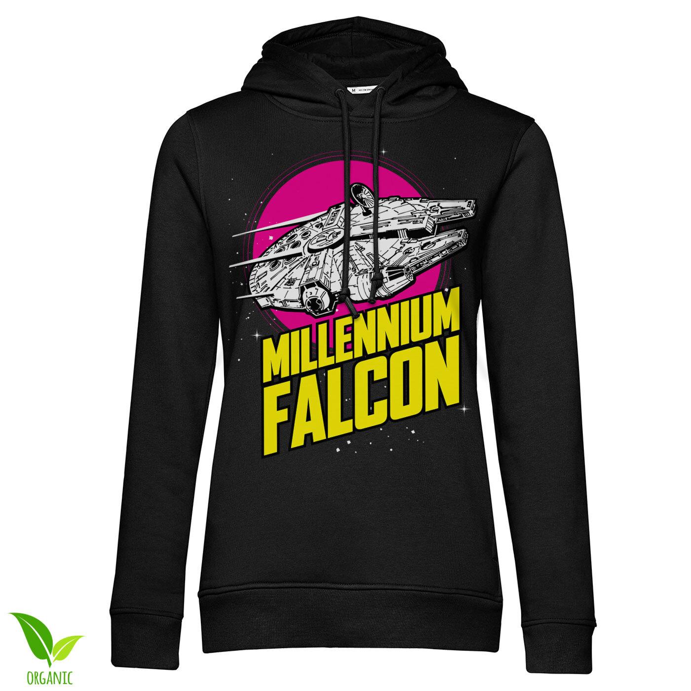 Millennium Falcon Retro Girls Hoodie