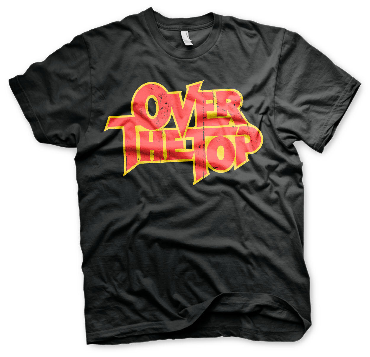 Over The Top Washed Logo T-Shirt