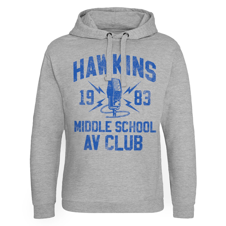Hawkins 1983 Middle School AV Club Epic Hoodie