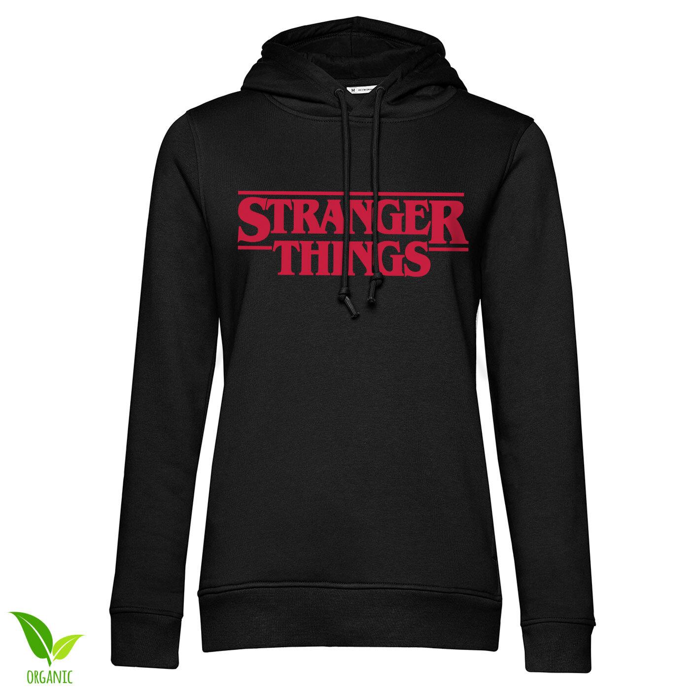 Stranger Things Logo Girls Hoodie