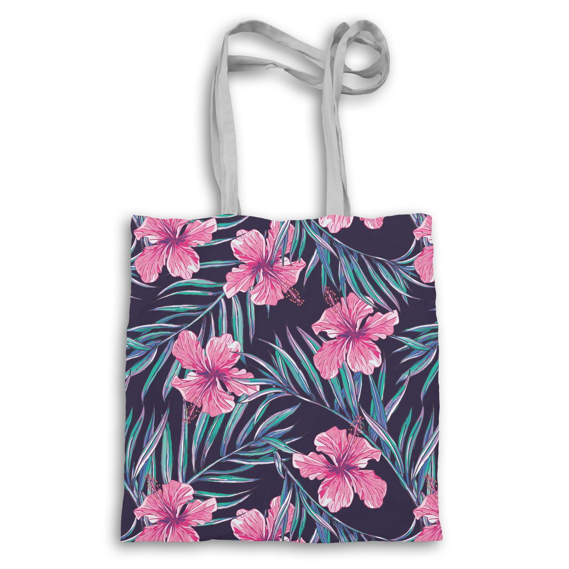 Tropical Pattern Allover Totebag