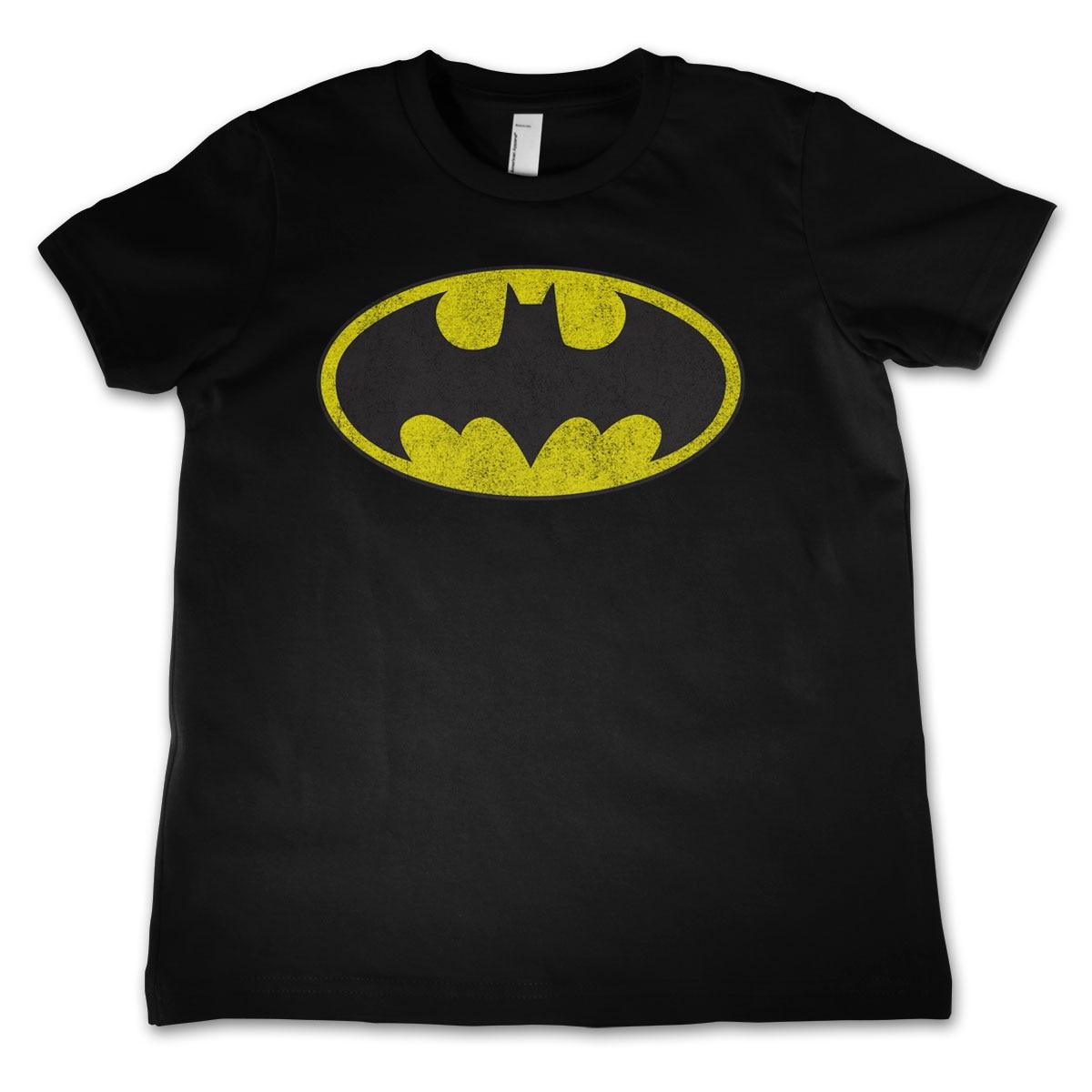 Batman Distressed Logo Kids T-Shirt