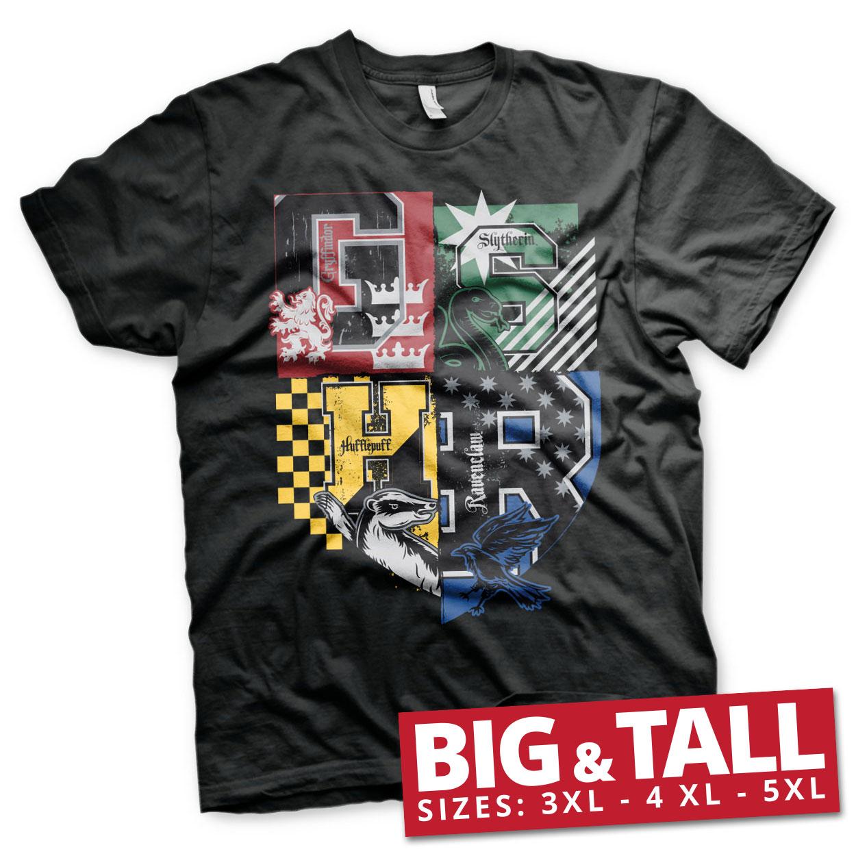 Harry Potter Dorm Crest Big & Tall T-Shirt