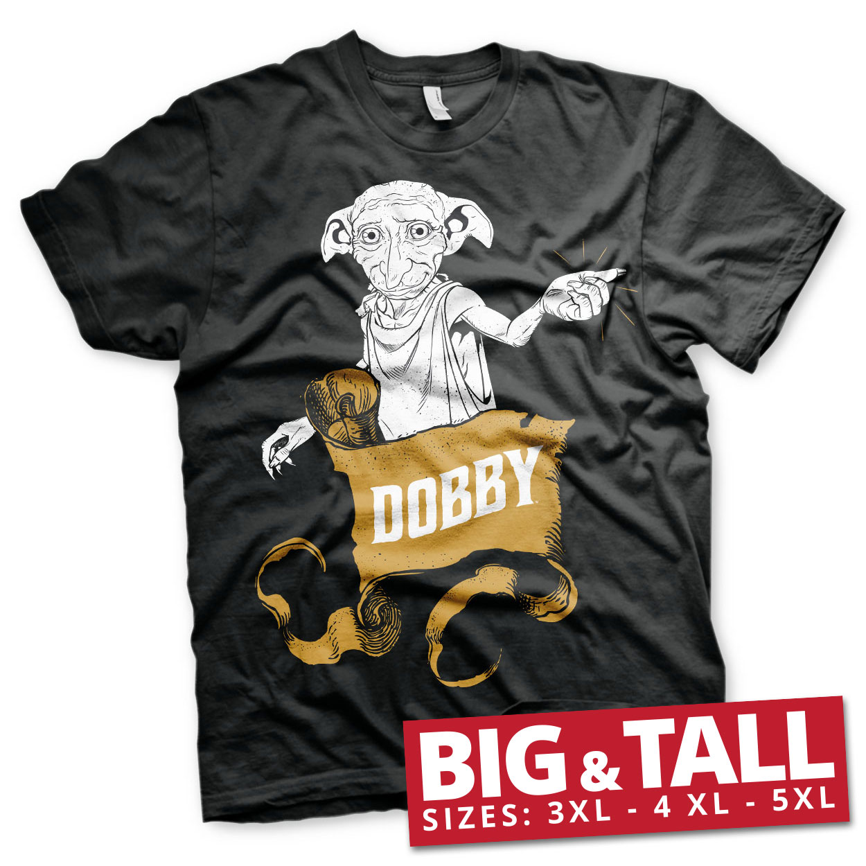 Harry Potter - Dobby Big & Tall T-Shirt