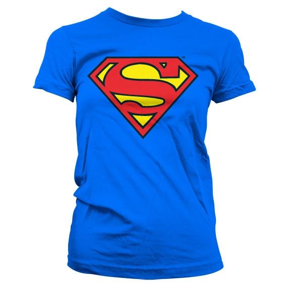 Superman Shield Girly T-Shirt
