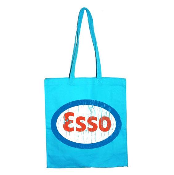 Esso Distressed Tote Bag